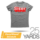 "Siser EASYWEED STRETCH Heat Transfer Vinyl - 15"" x 25 Yards"