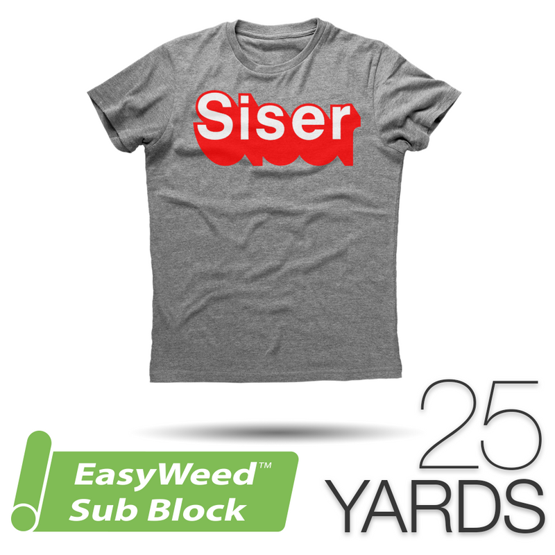 "Siser EASYWEED SUB BLOCK Heat Transfer Vinyl - 15"" x 25 Yards"
