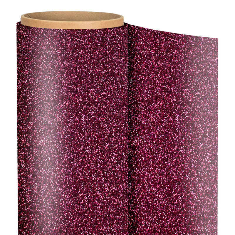 "Siser GLITTER Heat Transfer Vinyl - 20"" x 1 Foot"