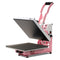 "Heat Press Nation CraftPro 15"" x 15"" High Pressure Crafting Transfer Machine : Pink"