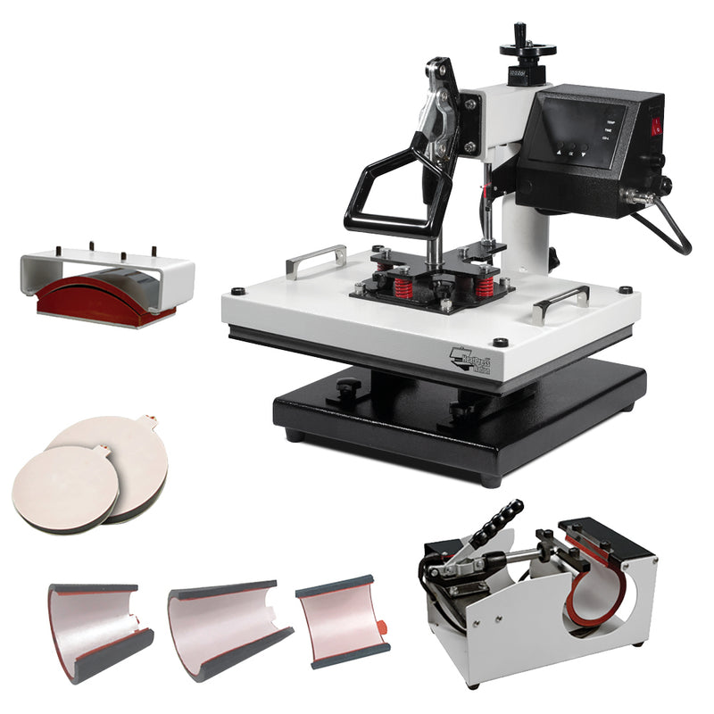 "HPN Signature PRO 12"" x 15"" 8-in-1 Multifunction Heat Press"