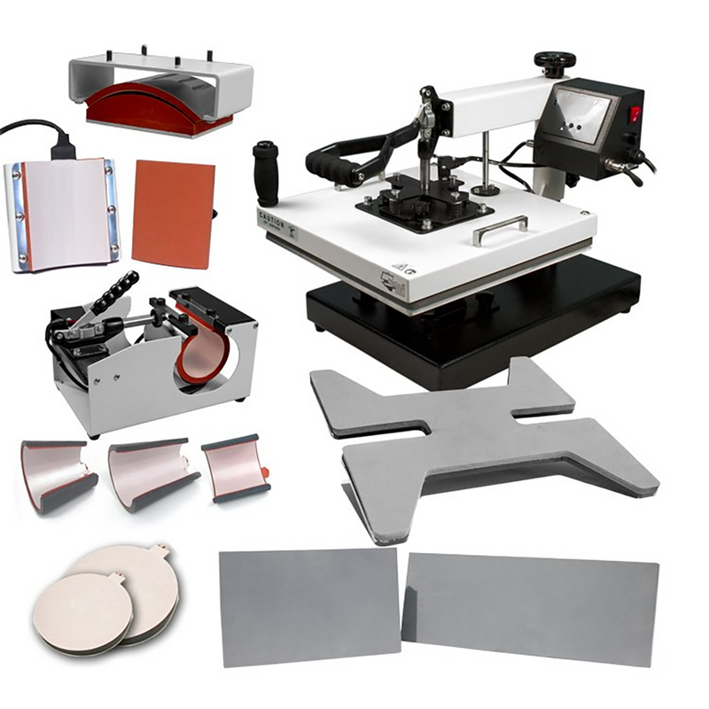 "HPN Signature Series 15"" x 15"" 12-in-1 Multifunction Heat Press"