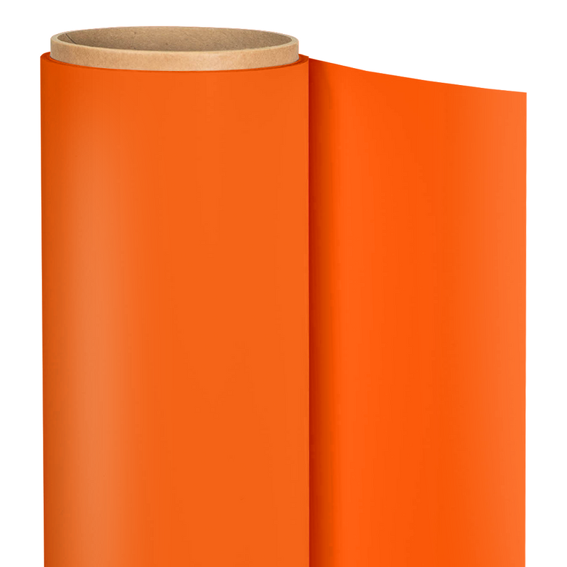 "Siser Easyweed Heat Transfer Vinyl - 15"" x 5 Yards : Orange Soda"