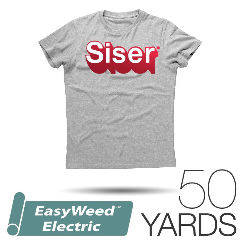 "Siser EASYWEED ELECTRIC Heat Transfer Vinyl - 15"" x 50 Yards"