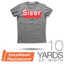 "Siser EASYWEED FLUORESCENT Heat Transfer Vinyl - 20"" x 10 Yards"