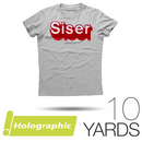 "Siser HOLOGRAPHIC Heat Transfer Vinyl - 20"" x 10 Yards"