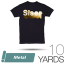 "Siser METAL Heat Transfer Vinyl - 20"" x 10 Yards"