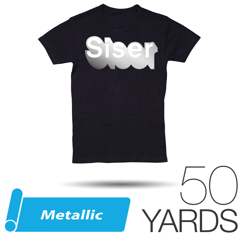 Siser METALLIC Heat Transfer Vinyl