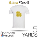 "Specialty Materials GLITTERFLEX II - 19"" x 5 Yards"