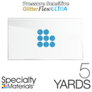 "Specialty Materials Pressure Sensitive GlitterFlex Ultra 19"" x 5 Yards"