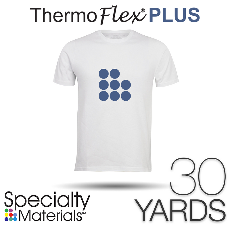 "Specialty Materials THERMOFLEX PLUS Heat Transfer Vinyl - 15"" x 30 Yards"