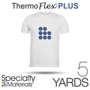 "Specialty Materials THERMOFLEX PLUS Heat Transfer Vinyl - 15"" x 5 Yards"