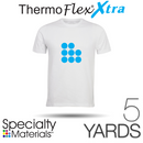 "Specialty Materials THERMOFLEX XTRA Heat Transfer Vinyl - 15"" x 5 Yards"