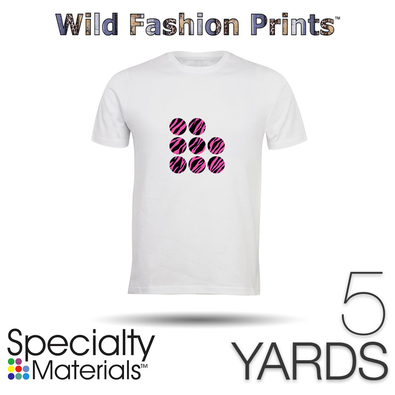 "Specialty Materials WILD FASHION PRINT - 15"" x 5 Yards"