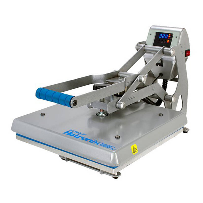 "Stahls' Hotronix Auto Open 16"" x 16"" Clam Heat Press"
