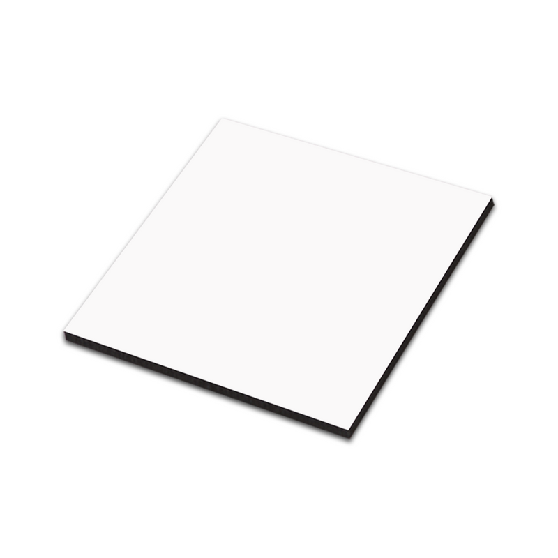 "Unisub Sublimation Blank Hardboard Magnet : 2.25"" x 2.25"" : Square - 10 Pack"