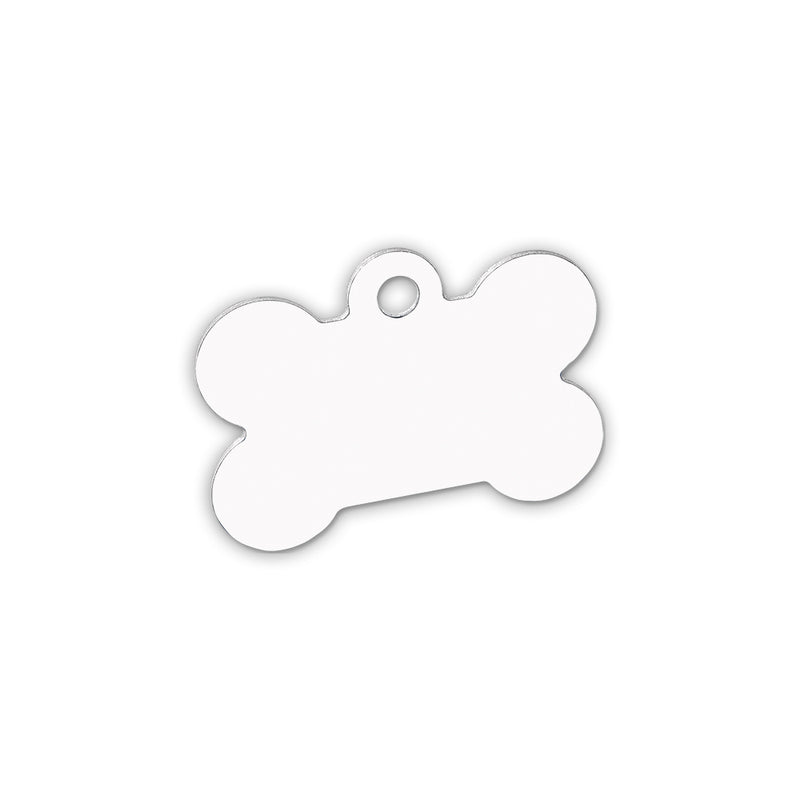 "Unisub Sublimation Blank Pet Tag - Dog bone - 1.5"" x 1"" - 5 Pack"