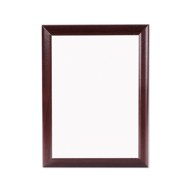 "Unisub Sublimation Blank Plaque : Cherry Ogee Edge : 8"" x 10"" - 7 Pack"