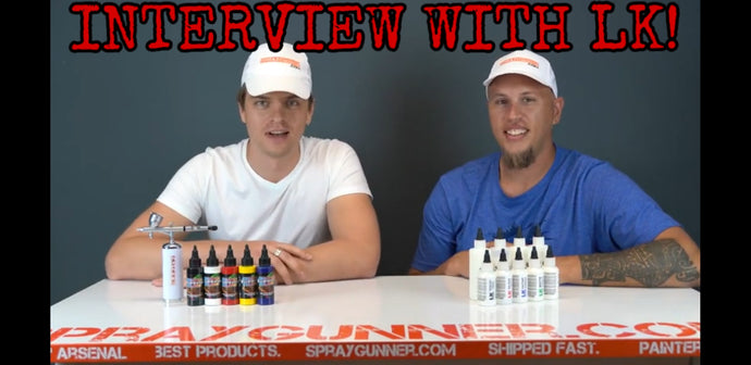 Interview with Jeff from LK Shoes and Artem from Spraygunner.com