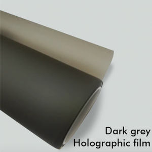 DARK GREY HOLOGRAPHIC FILM