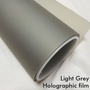 LIGHT GREY HOLOGRAPHIC FILM