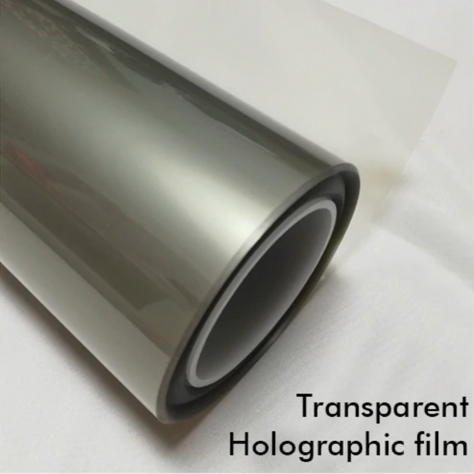 TRANSPARENT HOLOGRAPHIC FILM