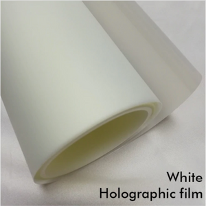 WHITE HOLOGRAPHIC FILM