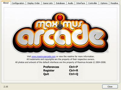 Maximus Arcade Setup Documentation – Maximus Arcade: