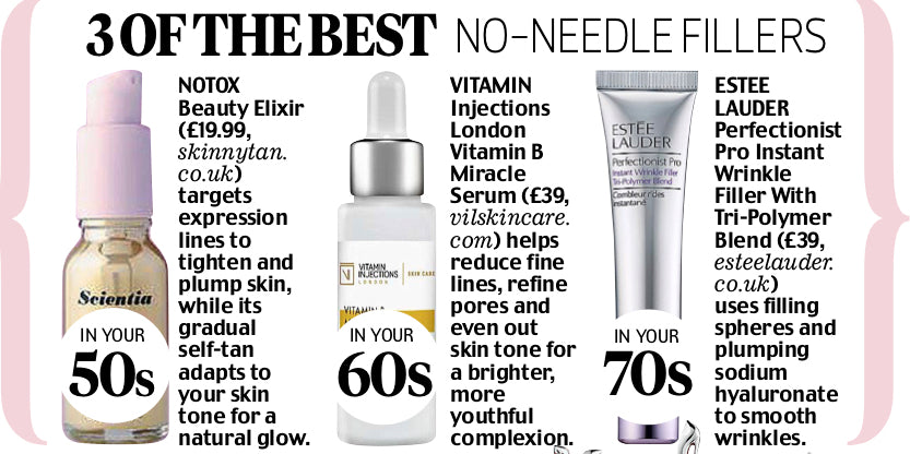 Vitamin B Miracle Serum in Daily Mail