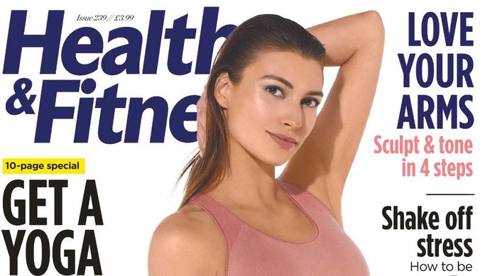 SPF 30 in Health & Fitness magazine's beauty bag