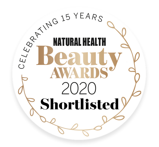 NOMINATED! Best moisturizer at the Natural Health Beauty Awards