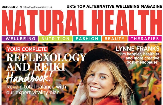 Natural Health magazine picks our gold Eye Masks