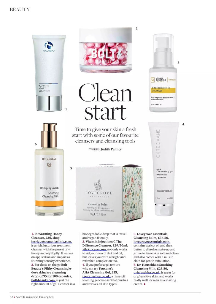 C the Difference Cleanser in Norfolk Magazine