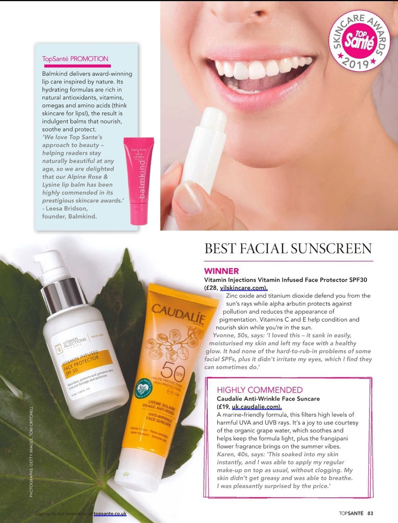 Top Sante Vitamin Injections London SPF 30