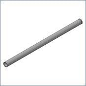 PN 14006 - C-STAND TUBE, ST, FLAIRED, 1.0DIA. #16, @19.5""