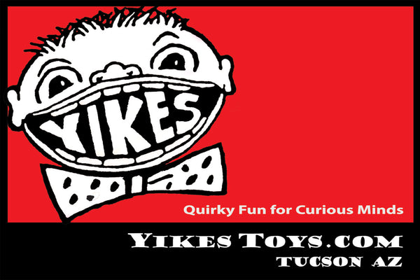 Yikes Toys, 2930 East Broadway Blvd, Tucson AZ, quirky fun for curious minds