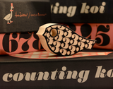 Blocks / Counting Koi (black) Limited Edition