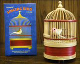 Mechanical Singing Bird in a Cage