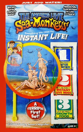 Novelties / Sea-Monkeys Original Instant Life
