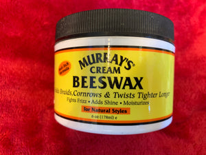 Murrays Cream Beeswax Anti Itch Dreads Braids Cornrows Twists No Frizz More Shine Moisture