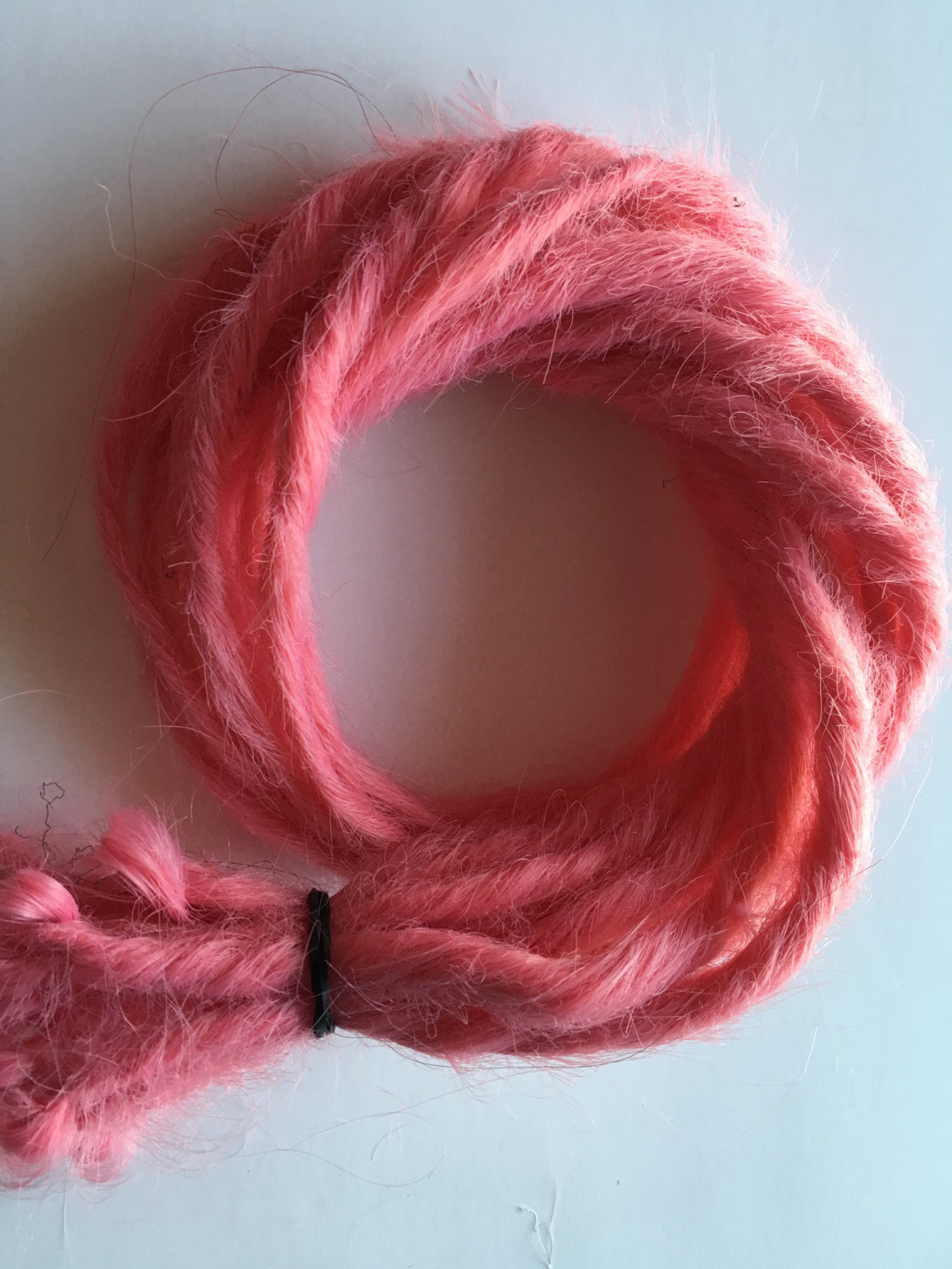 10 SE Synthetic Dreads Cotton Candy Bubblegum Carnation Pink Dreadlock Hair Extensions