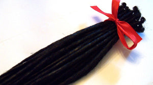 40 Synthetic Dreads Hair Extensions Custom Dreadlocks or Dread Fall