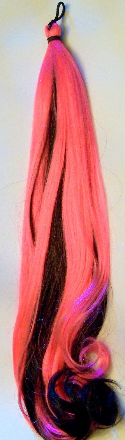 Pony Tail Hair Extension Elastic Mounted Fall Extra Long Any Color