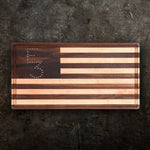 E3 American Flag Cutting Board