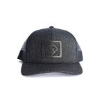 E3 Wood Patch Hat Black