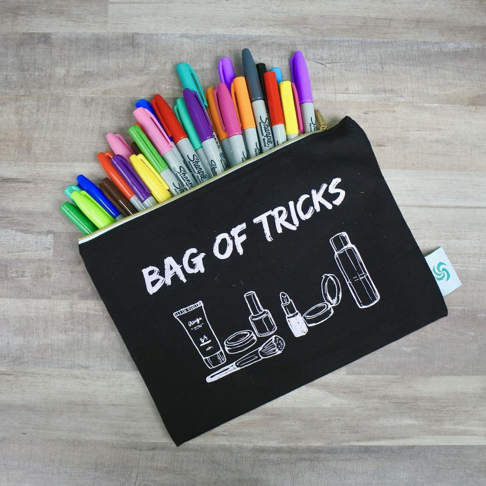 Bag of Tricks Makeup Pouch