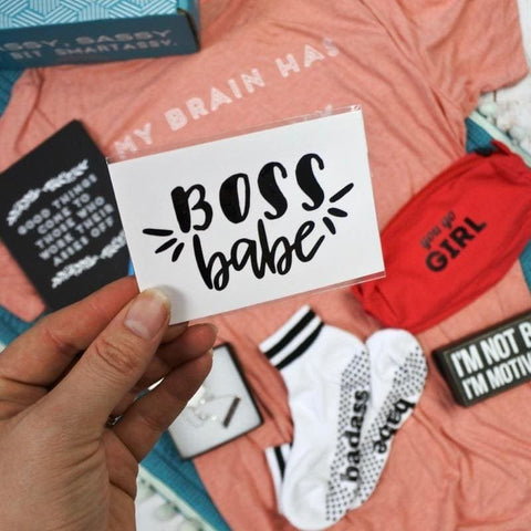 Boss Babe Vinyl Decal