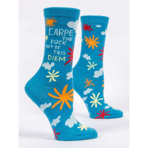 Carpe The F/ck Out of This Diem Socks