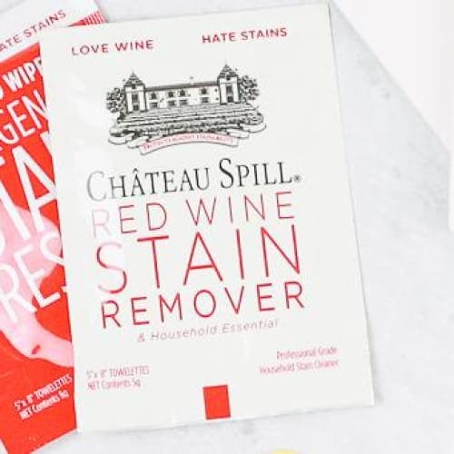 Chateau Spill Red Wine Stain Remover Wipe - Kitchen