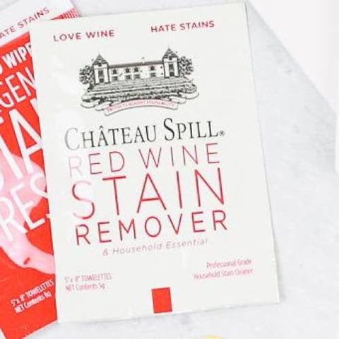 Chateau Spill Red Wine Stain Remover Wipe